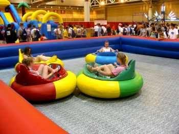 Bumper Cars Inflatable Bumper Cars